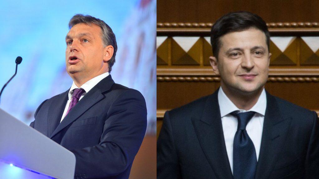 Az ukrán külügy hisz a kedvező megállapodásban Zelenszkij és Orbán között